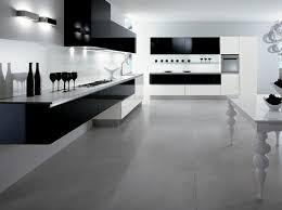 cuisine sol noir cuisine blanche sol noir 2 la cuisine laqu233e une survivance