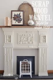 Make A Fireplace Mantel by Scrap Wood Mantel Country Design Style