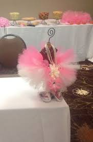 tutu centerpieces for baby shower ballerina tutu centerpiece for baby shower made by