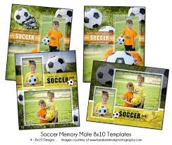 soccer pack memory mate sports photo templates by katieanndesigns