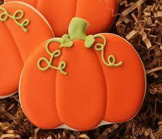 mini pumpkin pie cookies sky food