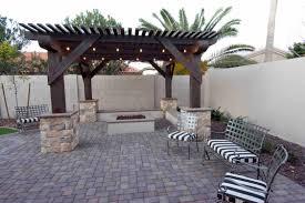 backyard patio wood building and development