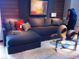 Blue Sectional Sofa With Chaise Sofa Beds Design Interesting Modern Blue Sectional Sofa With