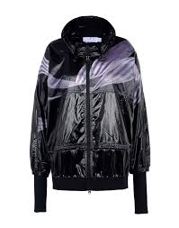 adidas by stella mccartney women coats and jackets black adidas
