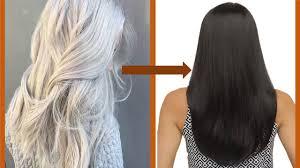 change white hair to black hair naturally सफ द ब ल क