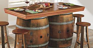 Reclaimed Wood Storage Cabinet Console Tables Magnificent Awesome Wine And Bar Console Rustic