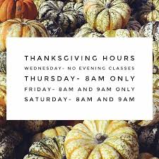 In The Box Thanksgiving Hours Hccfit