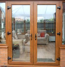 french doors or patio doors idea for dressing up plain glass
