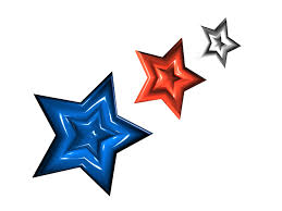 red white and blue stars free download clip art free clip art