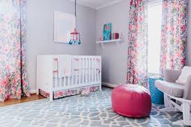 Nursery Pink Curtains Curtain Photo Page Hgtv Pinkrtains Nursery Light Blush Blackout