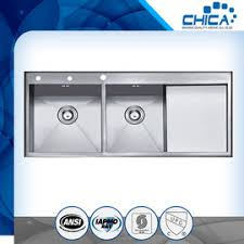 Kitchen Sink Capacity by Stainless Steel Handmade Kitchen Sink On Sales Quality Stainless