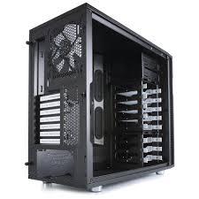 amazon com fractal design define r5 gaming case cases fdcadefr5bk