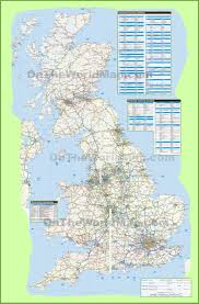 Map England by Large Detailed Road Map Of Uk