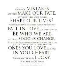 Quote About Inspirational Quote About How Mistakes Shape Our Lives The