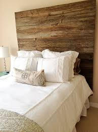 diy barnwood headboard the domesticated megan old barnwood