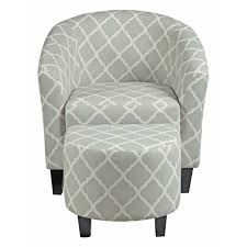 barrel chair with ottoman gray chair and ottoman slipcovers best home chair decoration