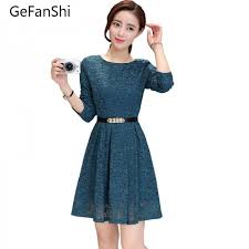 casual wear for women new fashion summer autumn sleeve women dress casual slim