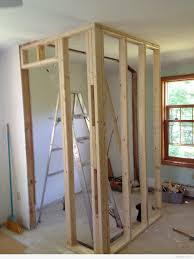 Diy Bedroom Wall Closets Building A Closet Wall Roselawnlutheran