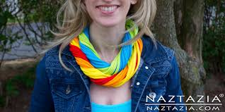 shirt necklace tutorial images Diy learn how to make easy t shirt necklace infinity scarf jpg