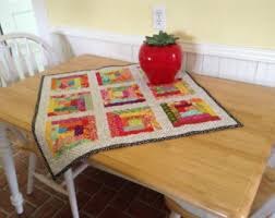 quilted table topper etsy