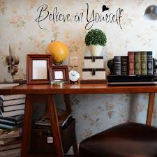 believe home decor online shop believe in yourself wall sticker encouraging sentence