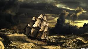 pirate sail wallpapers ship in strom art wallpaper jpg 1920 1080 epic pinterest