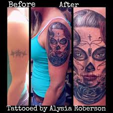 cover up of tribal with another day of the dead