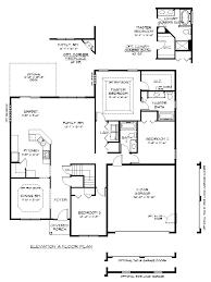 the kestral floor plan by garman builders first floor floor