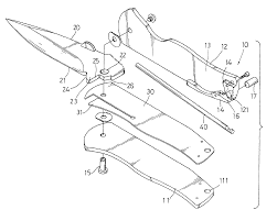 patent us6834432 pocket knife with lock design google patentsuche
