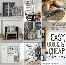 diy home decor ideas cheap updated home tour january decorating recap house by hoff