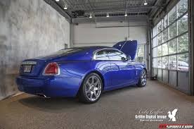 rolls royce truck blue rolls royce wraith at herb chambers in boston gtspirit