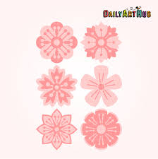cherry blossom flowers cherry blossom flowers clip set daily hub free clip