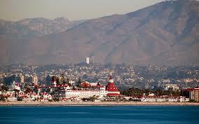 San Diego Map Of Hotels by Coronado California Wikipedia