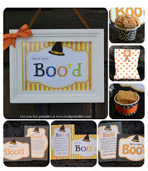 Halloween Printables Free by Free Booing Your Neighbors Printables Swish Printables