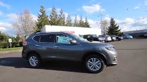 green nissan rogue 2015 nissan rogue sv gun metallic fc824956 kent tacoma