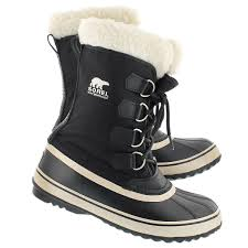 sorel womens boots canada sorel s winter carnival black winter boots