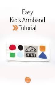 diy kids armband sewing diy armband and kids s