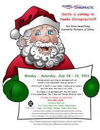 christmas in july christmas in july lake highlands tx hanks chiropractic center