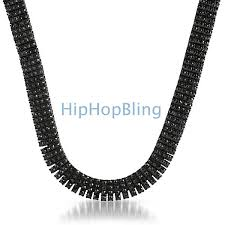 black diamonds necklace images 4 row black on black chain with over 750 faux black diamonds jpg
