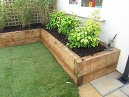 Garden Sleeper Ideas Plush Wooden Garden Borders Best 25 Edging Ideas On Pinterest