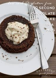 90 second double chocolate chip mug cake u2013 low carb gluten free