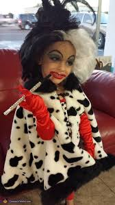 Devil Halloween Costumes Kids Cruella Devil Halloween Costume Photo 3 3