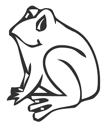frog coloring pages for kids animal coloring pages of