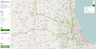 West Chicago Map by Tolling Information Overview Illinois Tollway