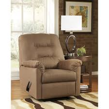 signature design by ashley harold point wall hugger recliner in
