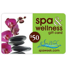 wholesale gift cards 50 spa wellness gift card by spa week bj s wholesale club