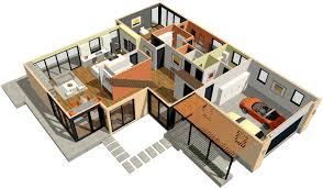 home architecture 3d architectural design building construction house of paws
