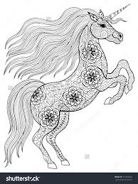 Unicorn Coloring Pages For Adults Menmadeho Me Unicorn Coloring