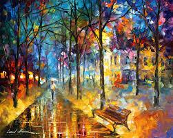 Color Image Online by Afremov Oil On Canvas Palette Knife Buy Original Paintings Art