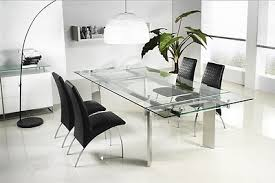ofm tempered glass conference table stainless steel casabianca 78 106 modern glass conference table with angled